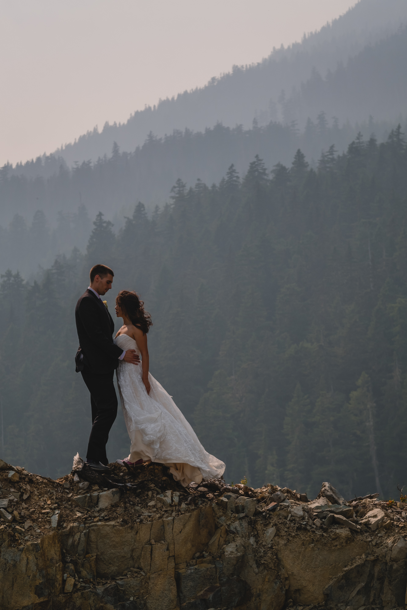 whistler summer evening couple